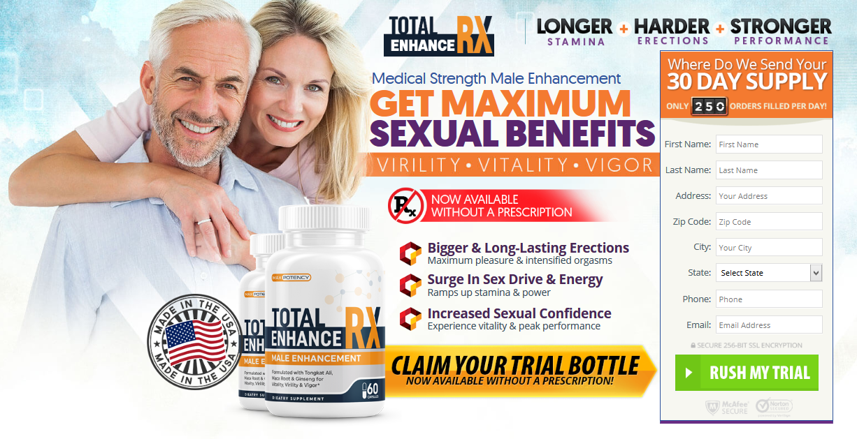 Total Enhance RX【UPDATE 2020】EXPOSED! #1- Read Before Buying!