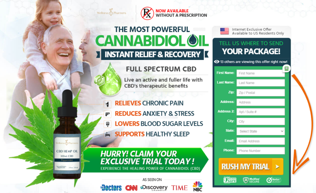 Wellness Farmers CBD Oil® *UPDATE 2020* Benefits, Scam, Reviews?