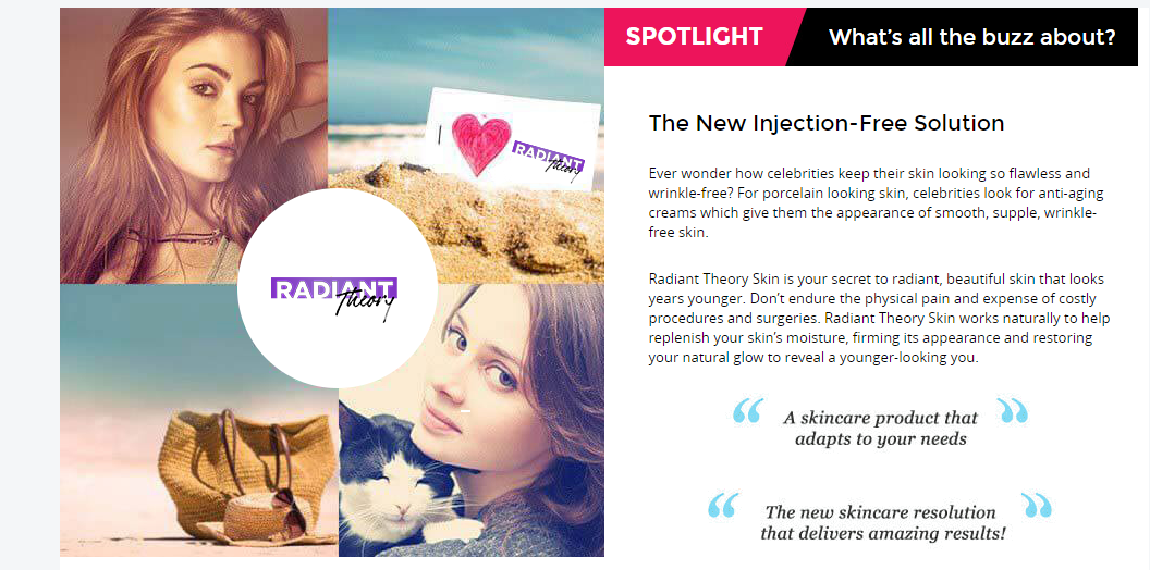 Radiant Theory Cream® - Radiant Theory Ageless Deep Hydration Cream!