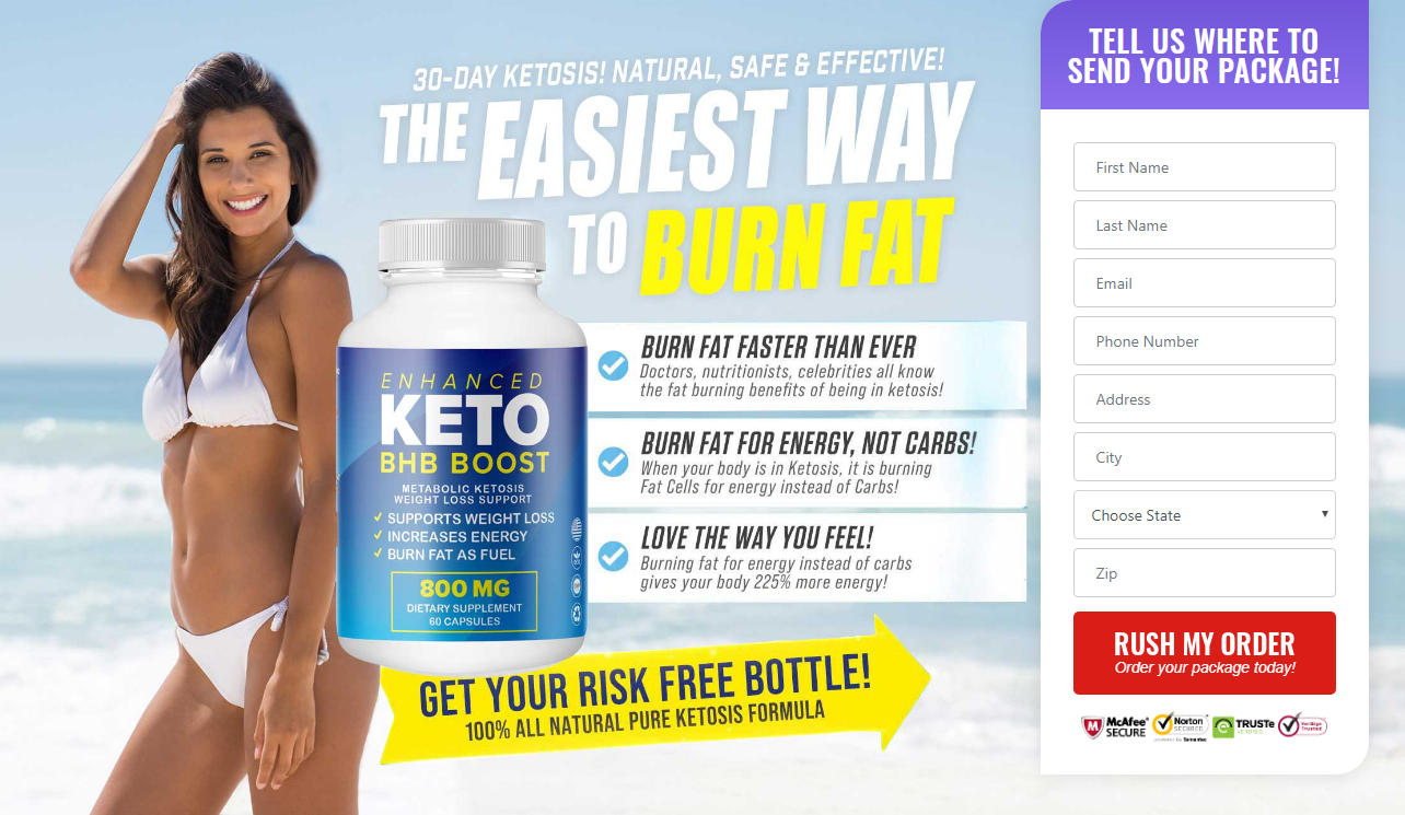 Enhanced Keto BHB Boost®【UPDATE 2020】 World 1# Diet Shark Tank!