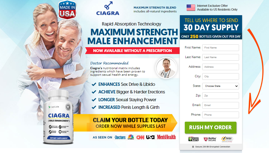 Ciagra Male Enhancement *UPDATE 2020* #1 Sexual Performance Pills