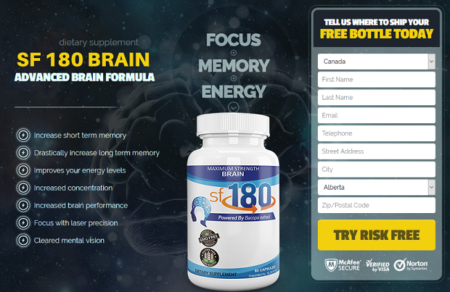 SF 180 Brain® Brian Enhancer Pills *UPDATE 2020* Does It Really Work?
