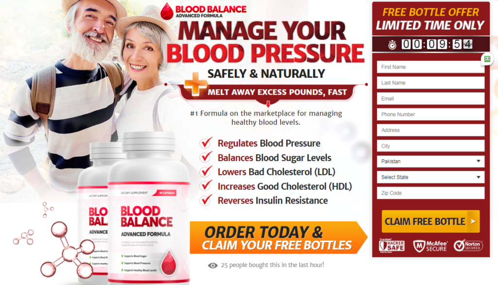 Blood Balance Advanced Formula® (UPDATE 2020) Its Scam or Legit?