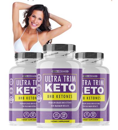 Ultra Trim Keto BHB® {UPDATE 2020} USA #1 Ketogenic Fat Burner Pills!