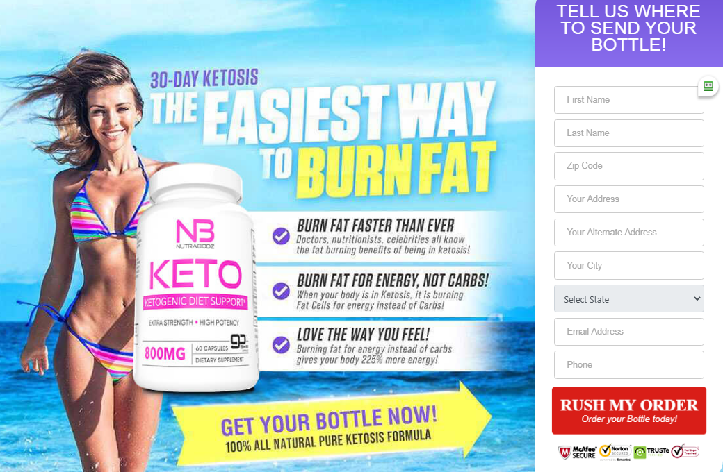 NutraBodz Keto | Shark Tank® {UPDATE 2020} Price, Benefits, Reviews?