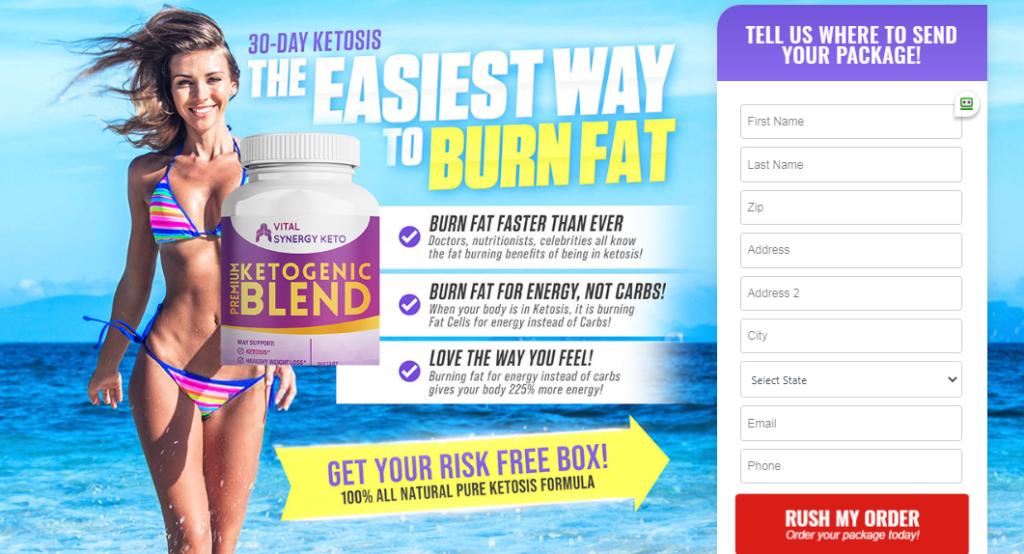 Vital Synergy Keto Ketogenic Blend®【UPDATE 2020】World 1# Keto Diet