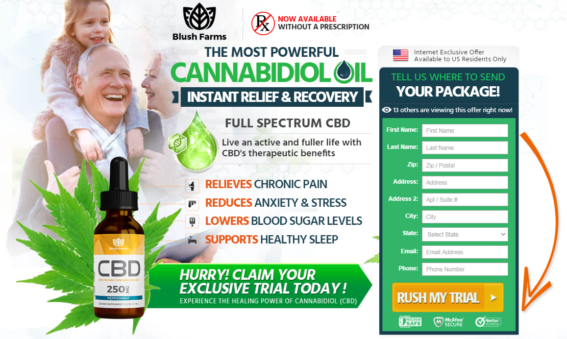 "Blush Farms CBD Oil® ⟨UPDATE 2020⟩ ""100% Legit"" Benefits, Reviews?"
