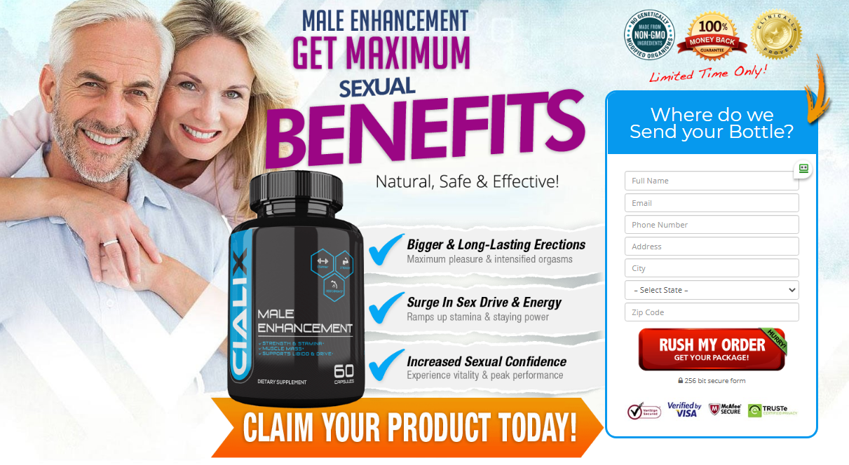 "Cialix Male Enhancement *2020* ""Cialix 100% Legit Pills"" Really Works?"