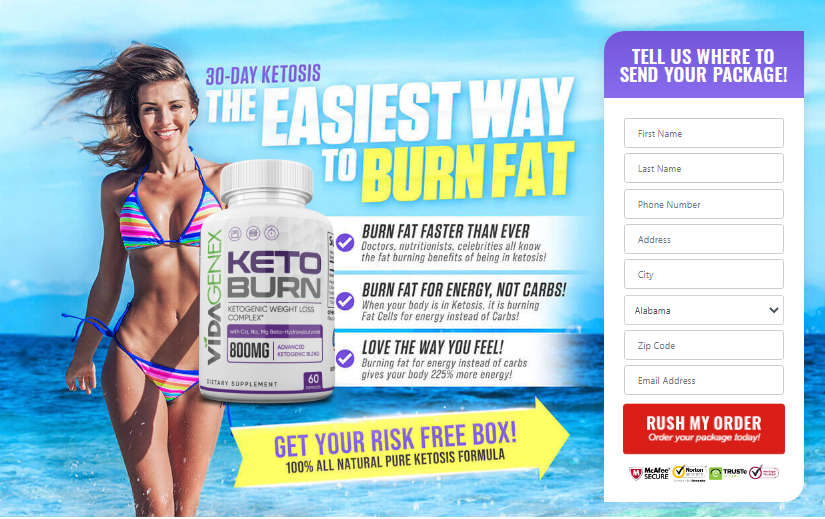 Vidagenex Keto Burn Pills *UPDATE 2020* 11 You Thing About Now!