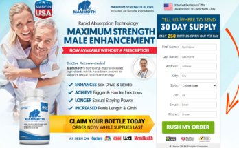 "#1 Mammoth Male Enhancement *UPDATE 2020* ""100% Legit"" Reviews?"