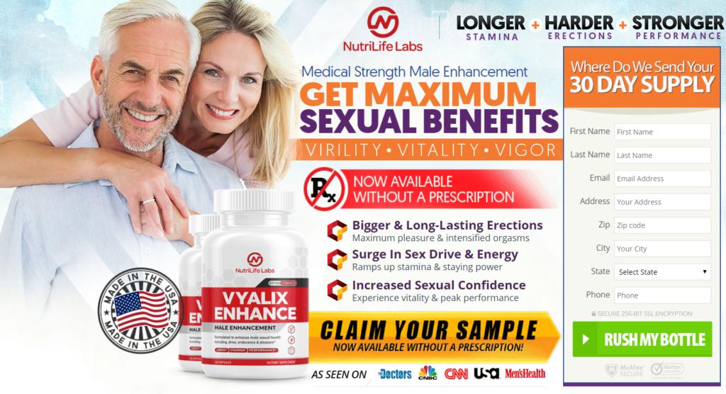 "#1 Vyalix Enhance™ *UPDATE 2020* ""100% Legit Pills"" Price, Reviews?"