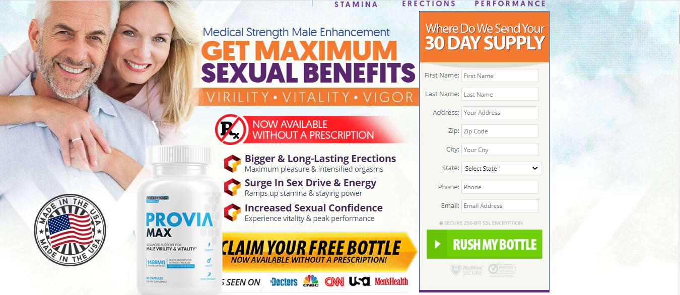 Provia Max®   UPDATE 2020   Provia Max Male Enhancement Reviews?