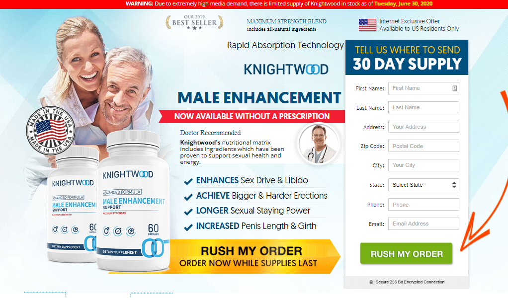 "Knightwood Male Enhancement *New 2020* 100% Legit ""Knightwood Pills"""