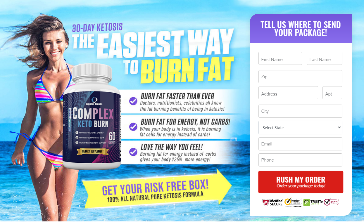 Complex Keto Burn | Shark Tank® {Organix Blends Keto Burn} Reviews?