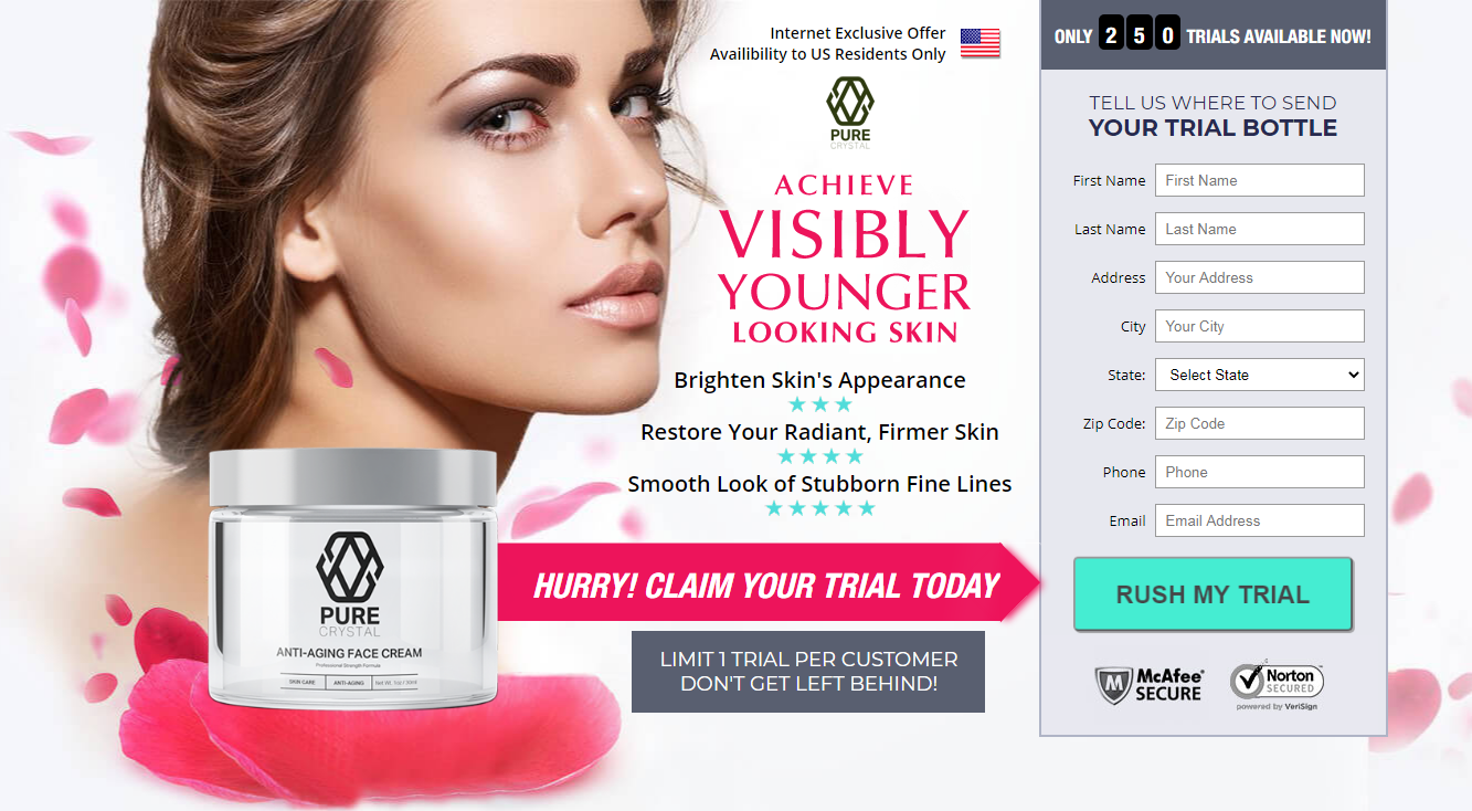 Pure Crystal Skin Anti Aging Cream {Modify 2020} Its Scam or Legit?