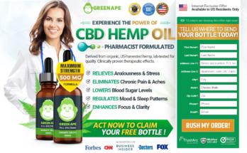 Green Ape CBD Oil [UPDATE 2020] 7 Avoid Reason, Scam, Reviews?