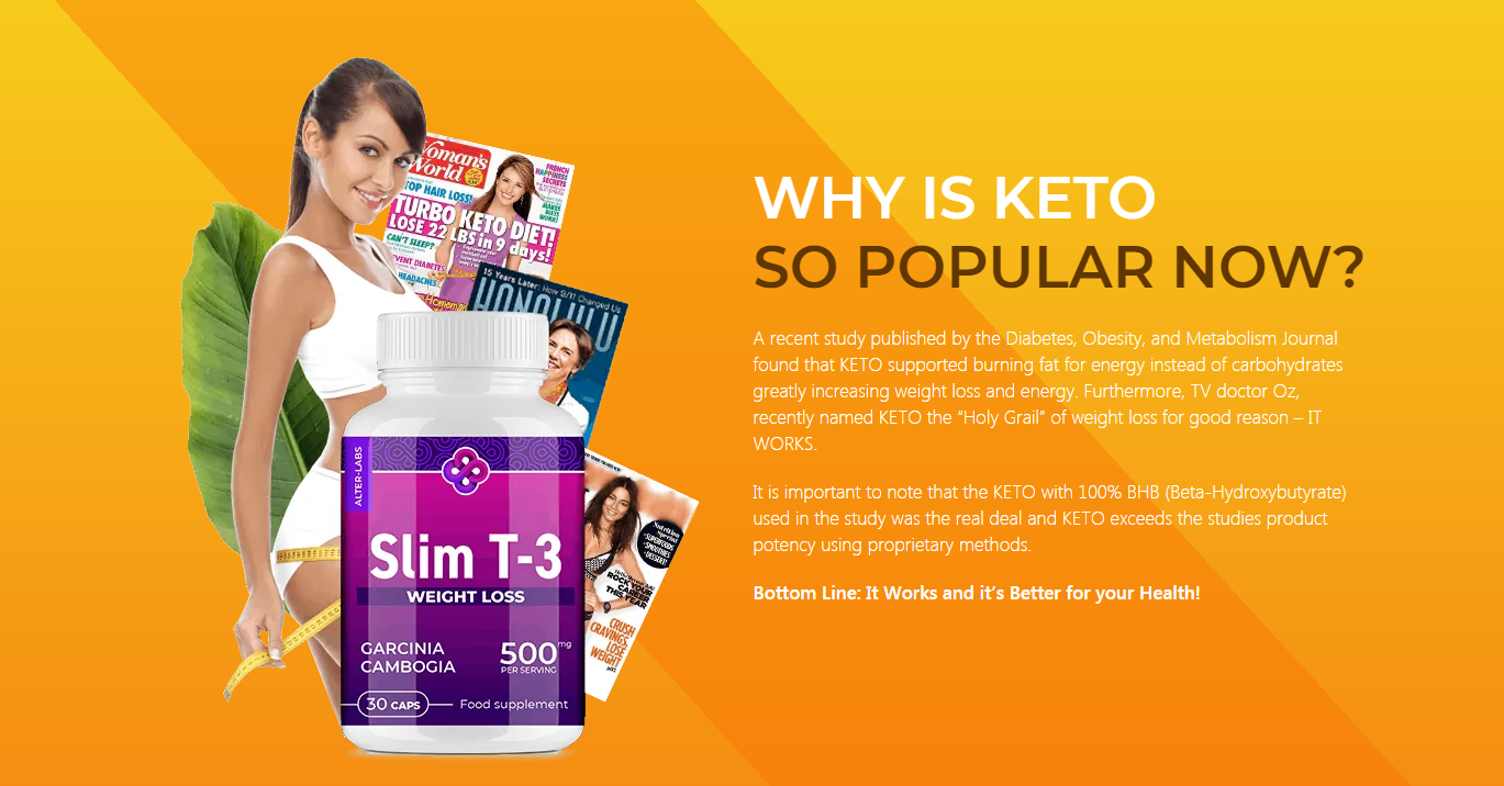 Keto Slim T-3 UK ® [UPDATE 2020] 5 Real Fact About Keto Slim T-3!