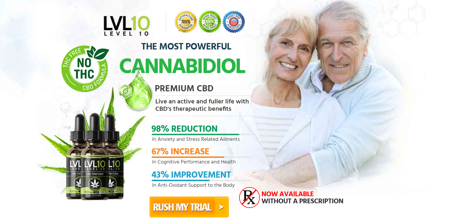Level 10 CBD Oil Reviews - Ingredients, Scam, Benefits & Side Effect?