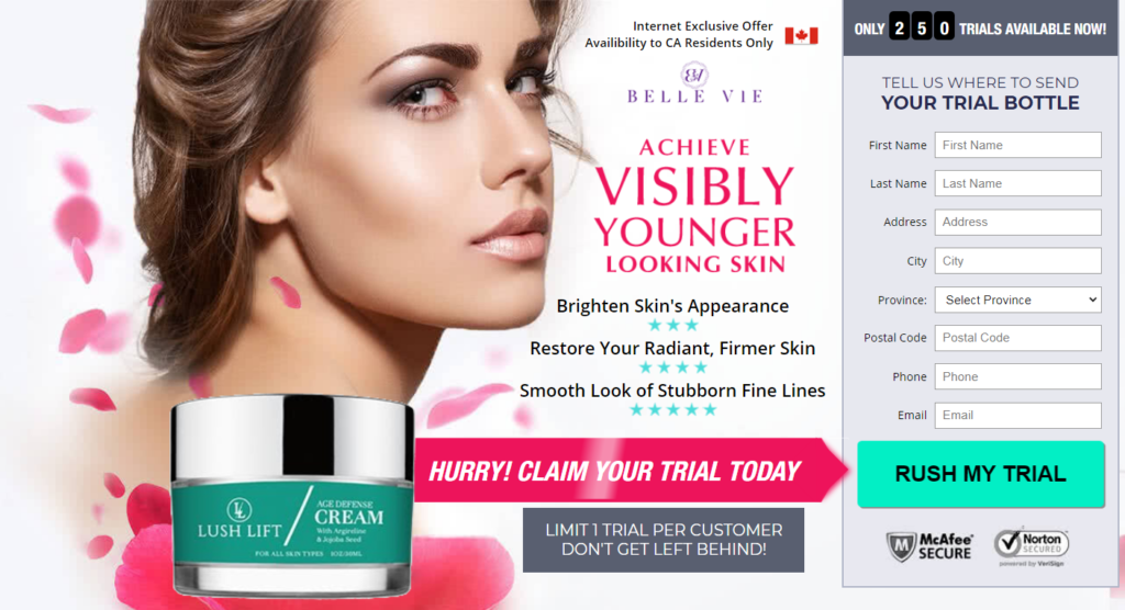 Lush Lift Cream® [UPDATE 2020] Price, Scam, Reviews! Where to Buy?