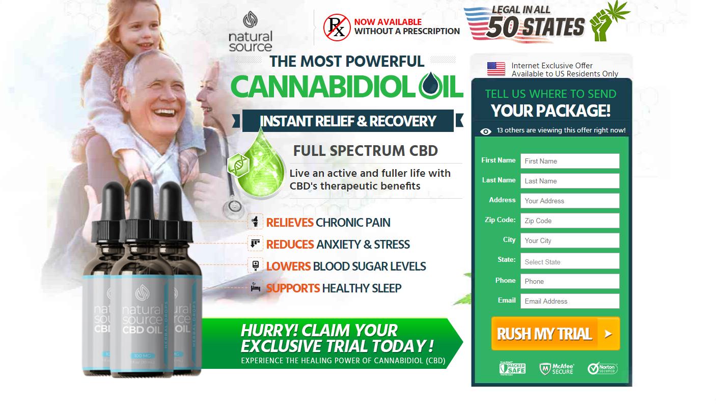 Natural Source CBD Oil ® *Active 2020* World #1 Pain Relief Hemp Oil!