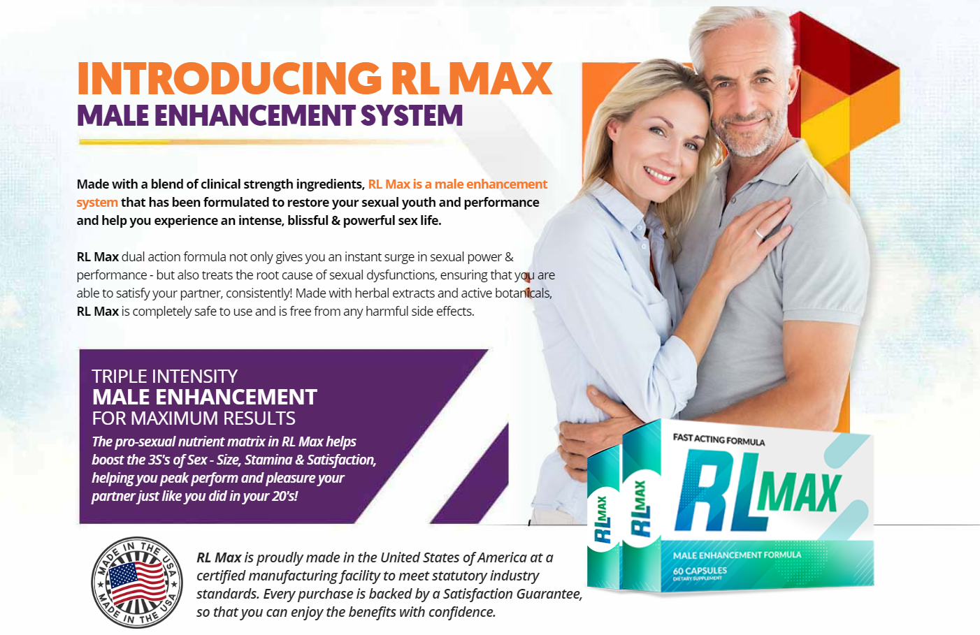 RL Max Male Enhancement ® (UPDATE 2020) Its Scam or Legit?
