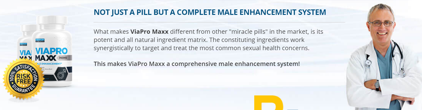 ViaPro Maxx Male Enhancement [UPDATE 2020] Price, Scam, Reviews?