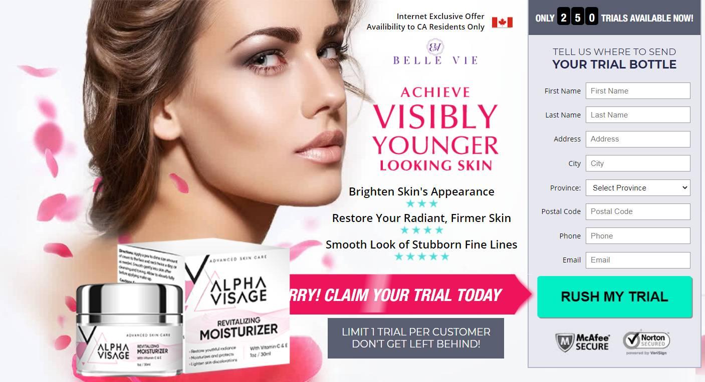 Visage Cream Canada *2020* [ Alpha Visage Skin] {Alpha Visage Cream}!