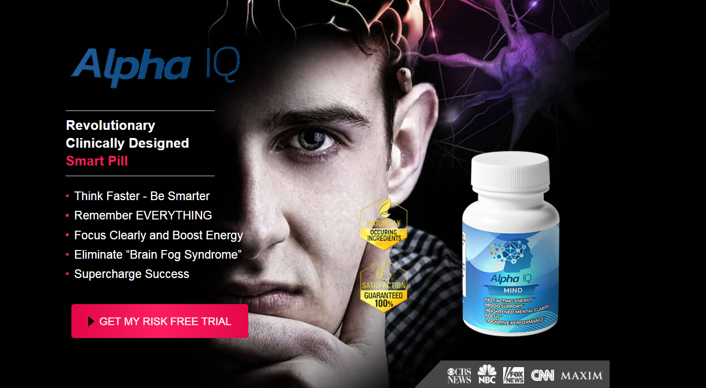 Alpha IQ Mind Reviews【ACTIVE 2020 】Price, Benefits, Scam or Legit?