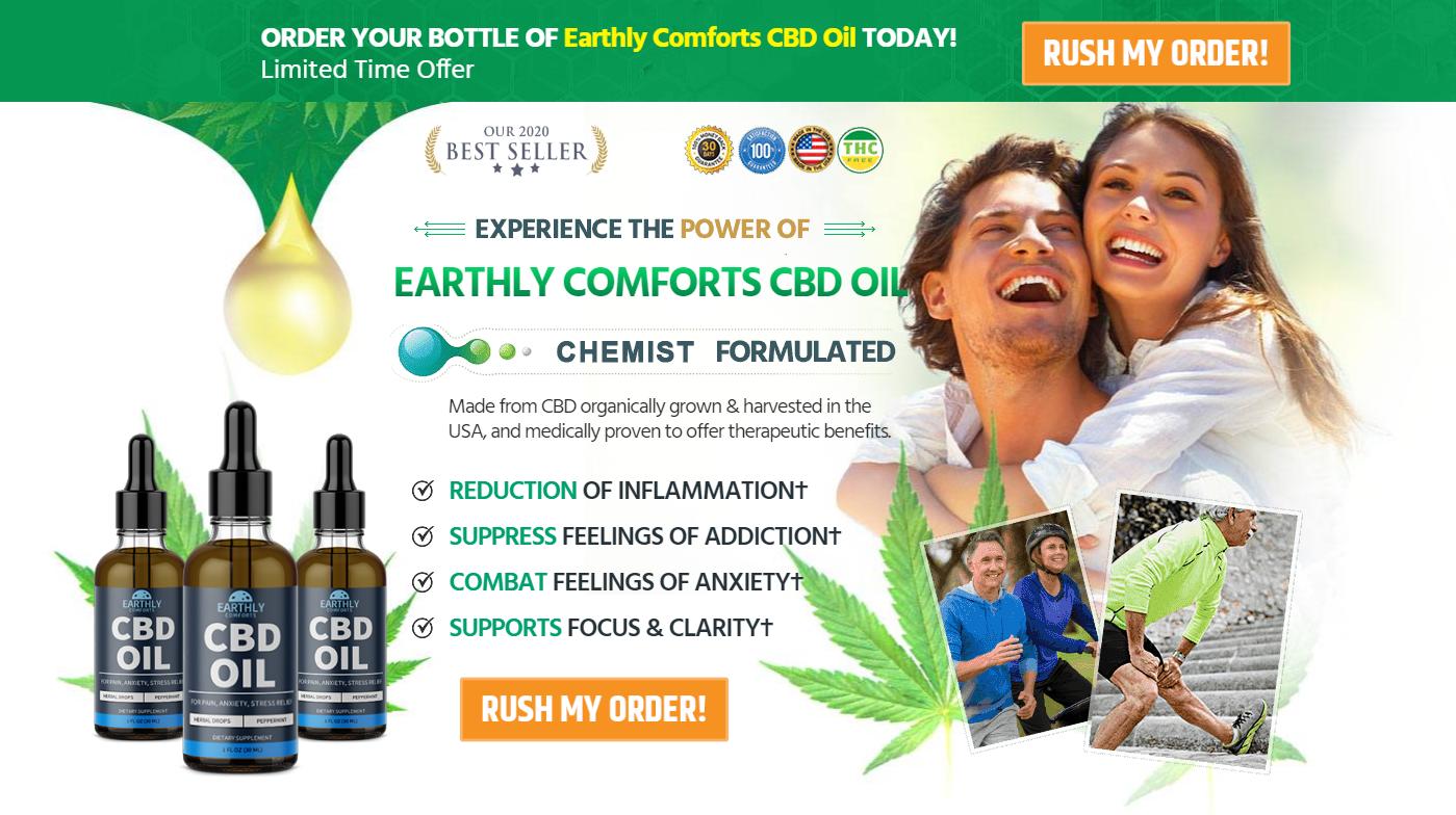 Earthly Comforts CBD
