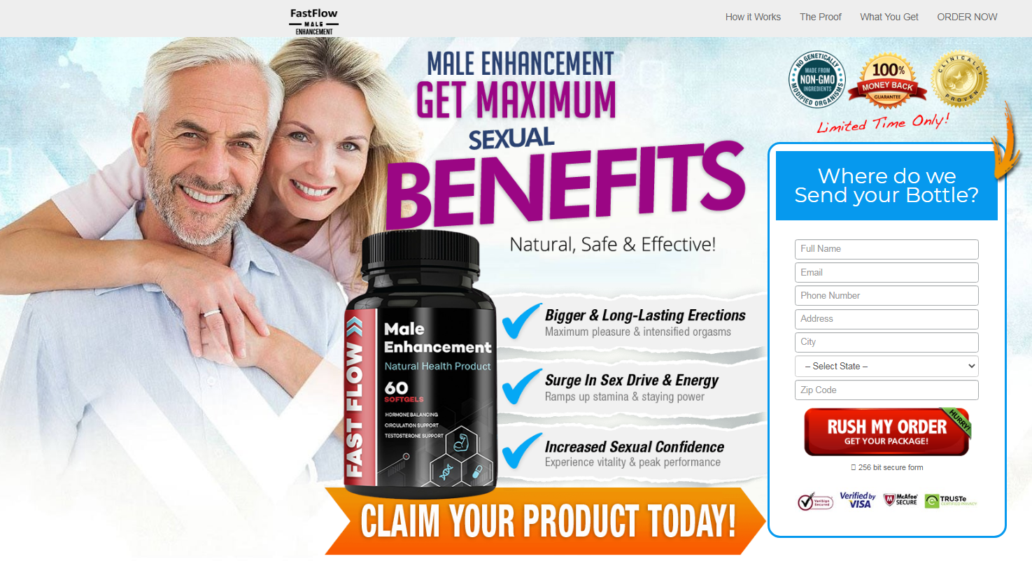 Fast Flow Male Enhancement [100% Legit Fast Flow Pills] Legit, Scam?