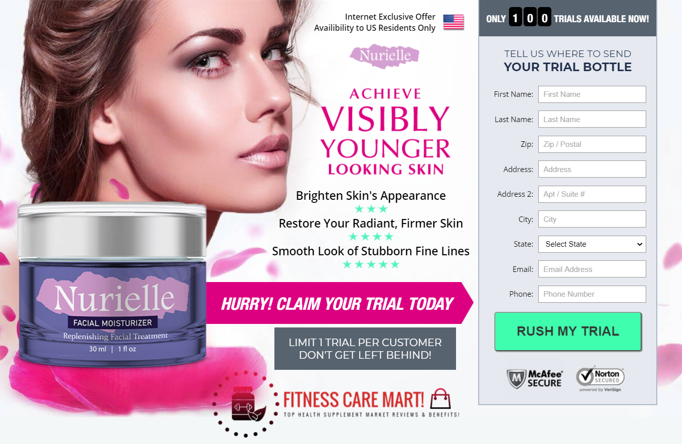 Nurielle Cream ® (Nurielle Facial Moisturizer) Ingredients, Where to Buy?