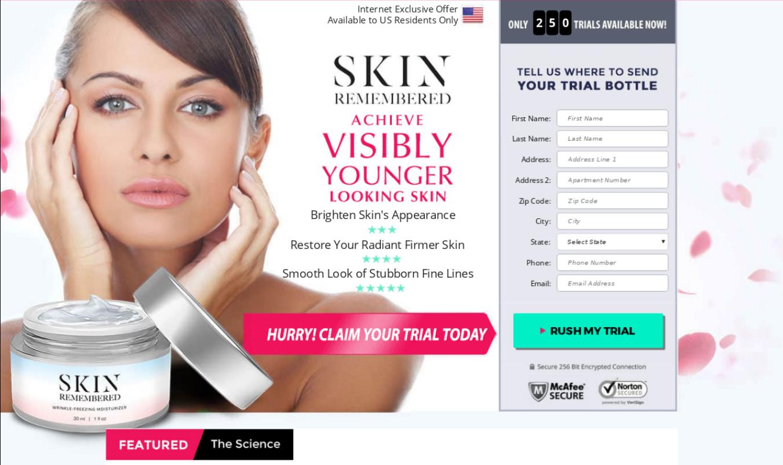 Skin Remembered Moisturizer ® | World #1 Skin Moisturizer Cream!!!