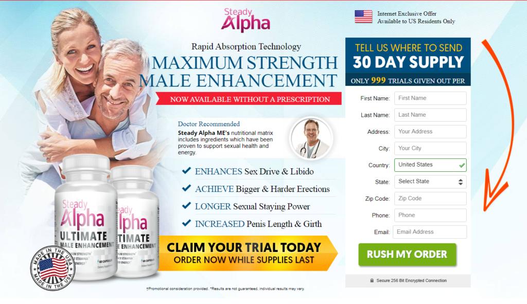 Steady Alpha ™ | Seady Alpha Male Enhancement ® Price, Ingredients?