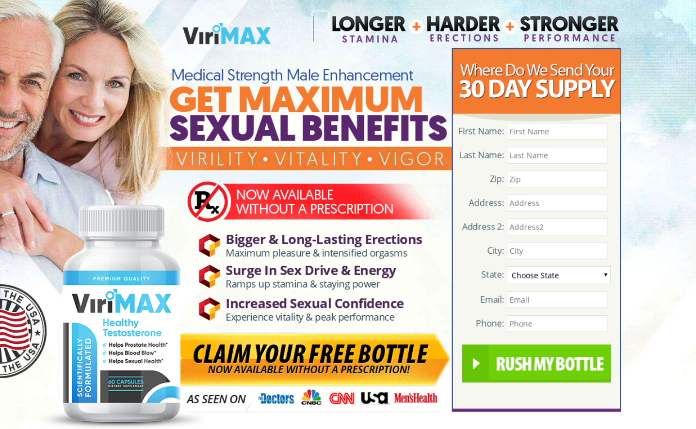 ViriMax Male Enhancement ® | ViriMax 100% Legit Pills | Scam, Reviews?