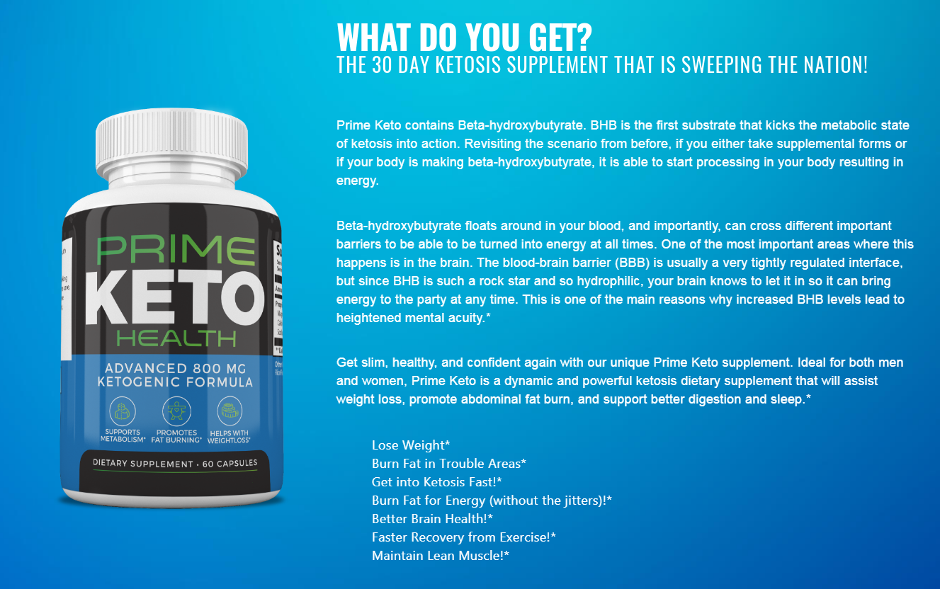 Prime Keto Health Reviews ®【Shark Tank 2020】Does Its Really Works?