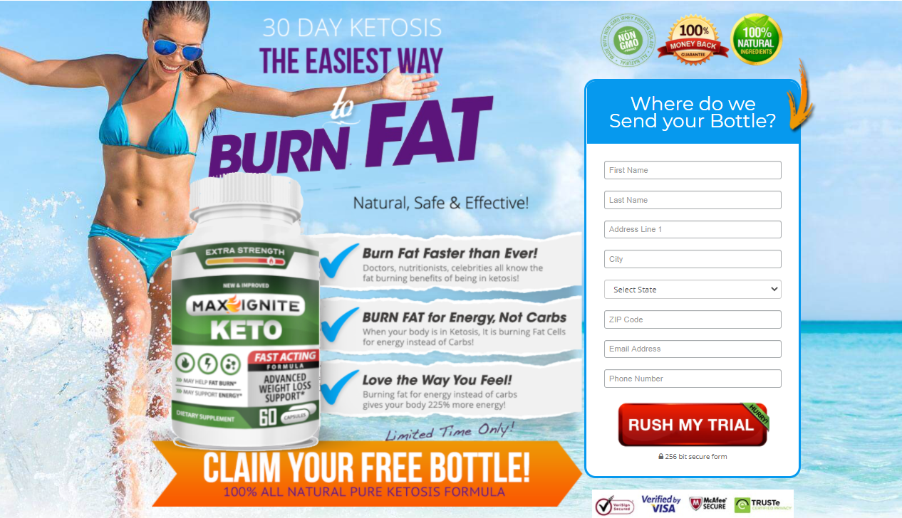 Max Ignite Keto - [Best Formula 2020] Brun Fat Energy Without The Jitter!