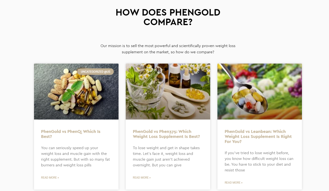 PhenGold [Its Scam?] PhenGold is Loaded With Fat Burning Ingredients..