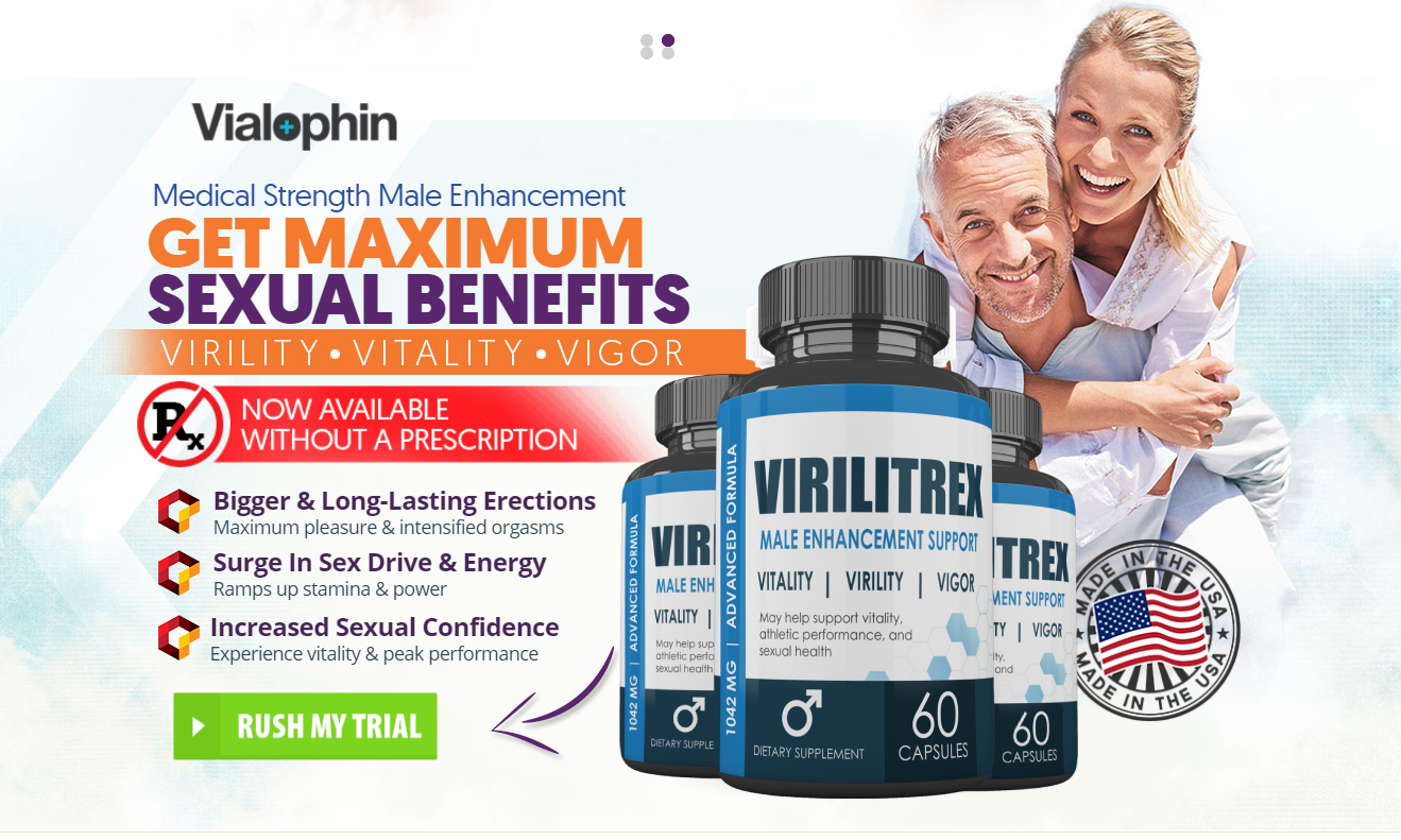 Virilitrex Male Enhancement || Virilitrex Pills || Growth Penis & Boost Libido!