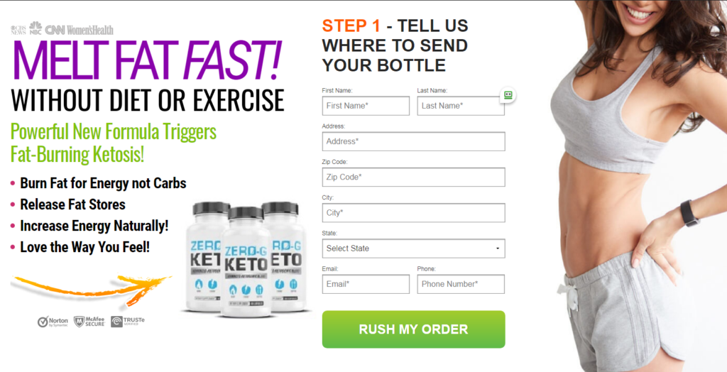 Zero G Keto ® Guide: Powerful New Formula Triggers Fat Burning Ketosis
