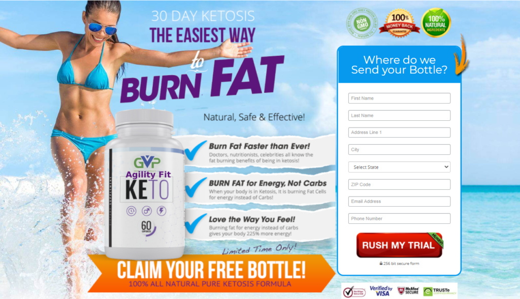 Agility Fit Keto Reviews: - When Your Body in Ketosis, Its Burning Fat Cell!