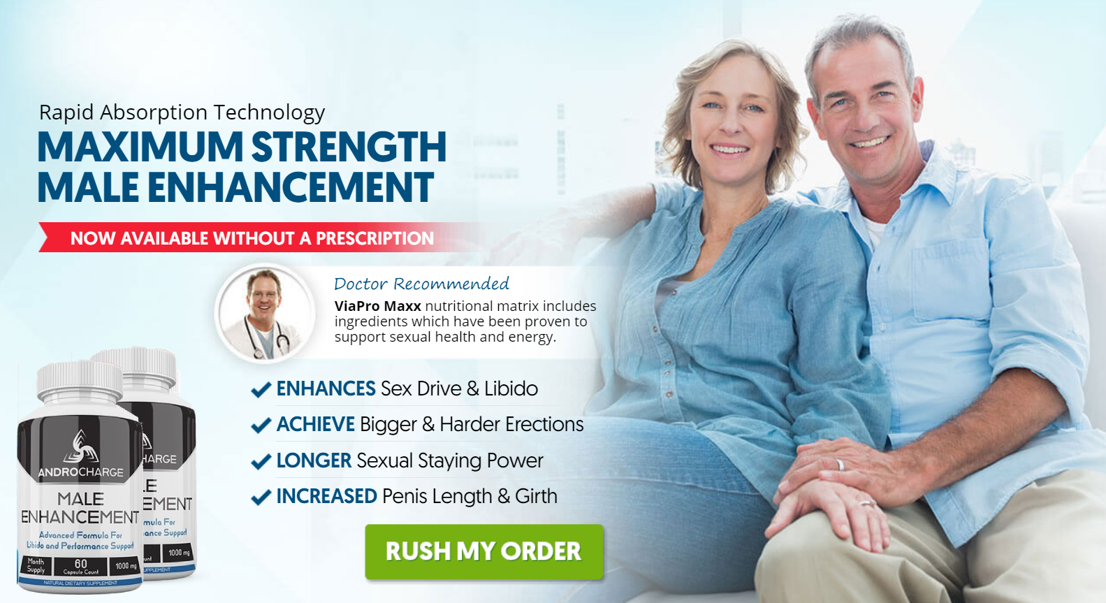 AndroCharge Male Enhancement® *SCAM or HOAX* Where to Buy AndroCharge?