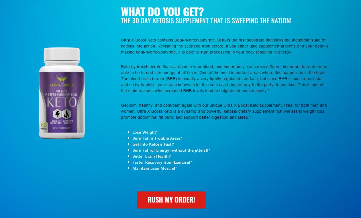 Ultra X Boost Keto® {Modify 2020} Price, Scam, Reviews, Benefits?