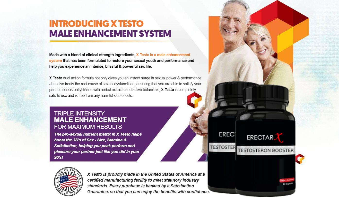 "ErectarX ® Shark Tank ""ErectarX Male Enhancement"" What is ErectarX?"