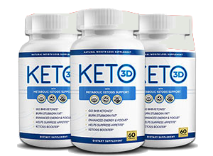 Keto 3D Pills Reviews® [UPDATE 2021] Does Its Really Works?
