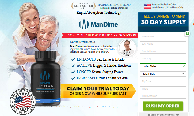 ManDime Hard Male Enhancement ® *UPDATE 2020* Its Scam or Hoax!
