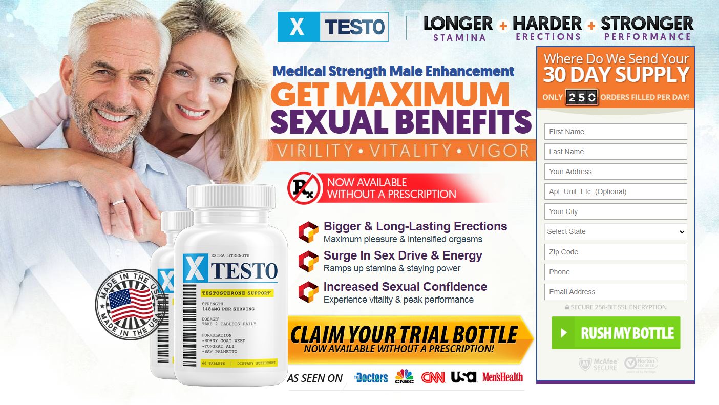 XTesto Male Enhancement® [100% Legit XTesto Pills] Its Scam or Legit?