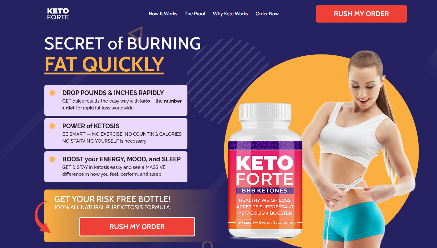 Keto Forte BHB | Shark Tank® (Upgrade 2021) Does Its Really Works?