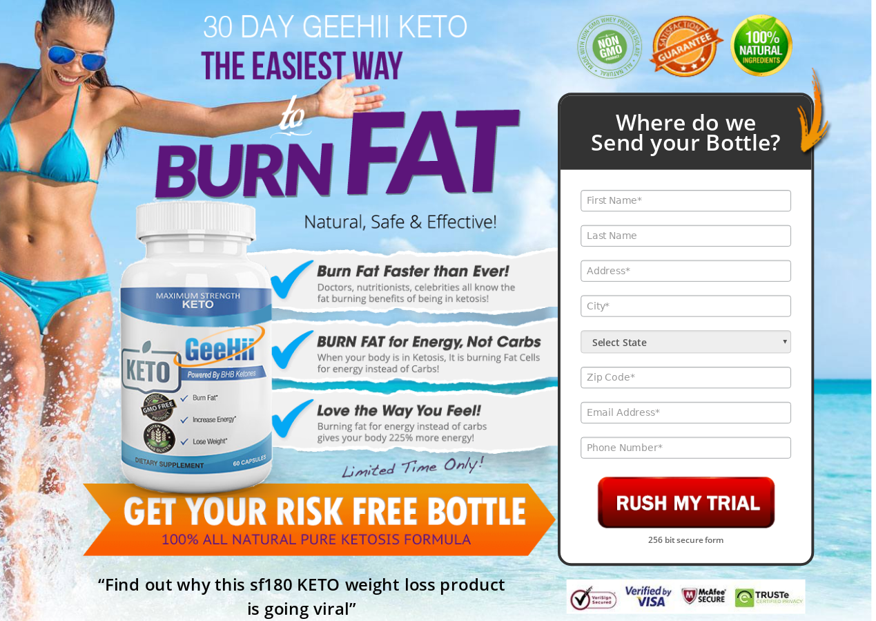 GeeHii Keto Reviews® (Modify 2021) Benefits, Works, Scam, Ingredients?