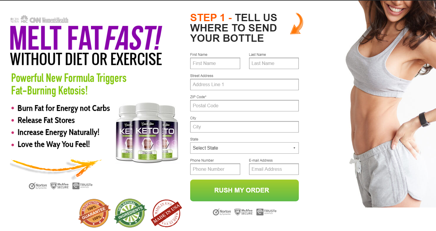 Quick Shred Keto Reviews {Upgrade 2021} Ingredients, Benefits, Scam?