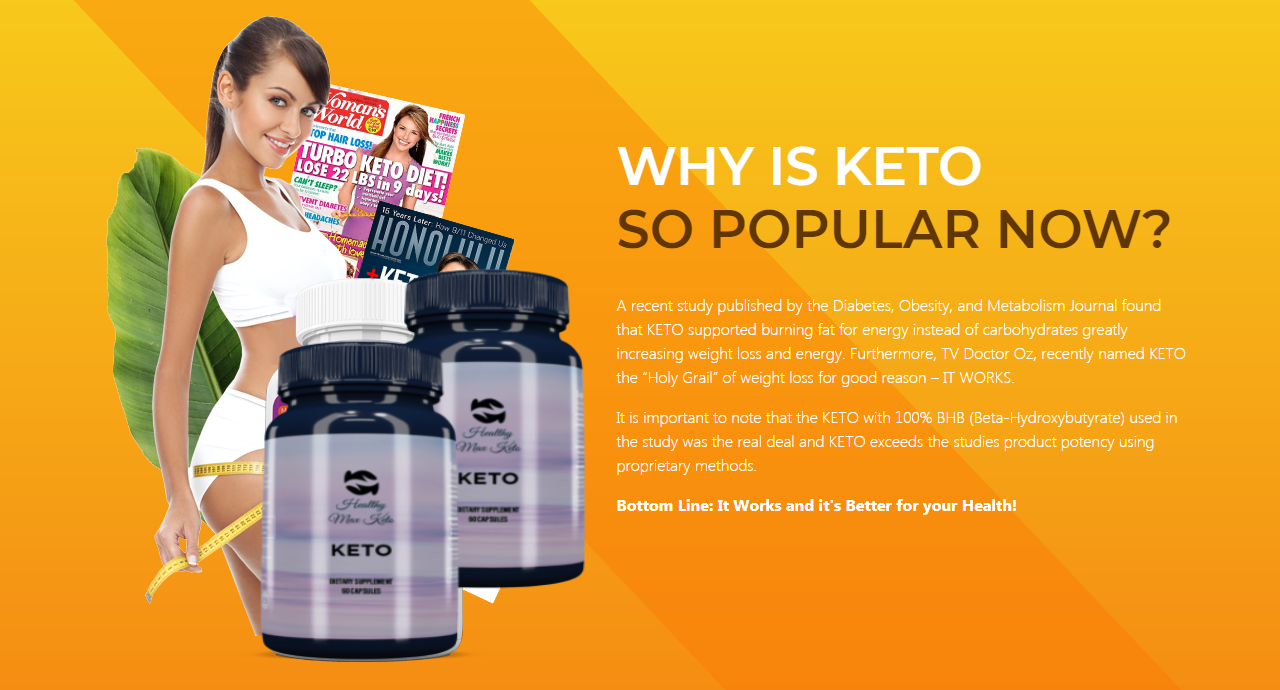 "Healthy Max Keto ""100% Legit Diet"" Price, Scam, Ingredients, Reviews?"